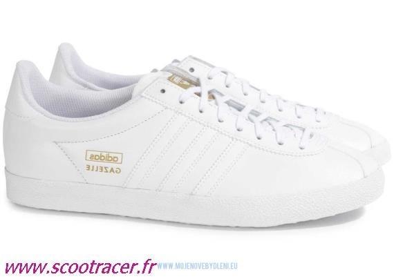 adidas Gazelle W, Chaussures de Gymnastique Femme Adidas Gazelle Grise Et  Blanche Femme ... adidas Gazelle Femme Vert Blanche Linen B41661 . 07acc8de00b6