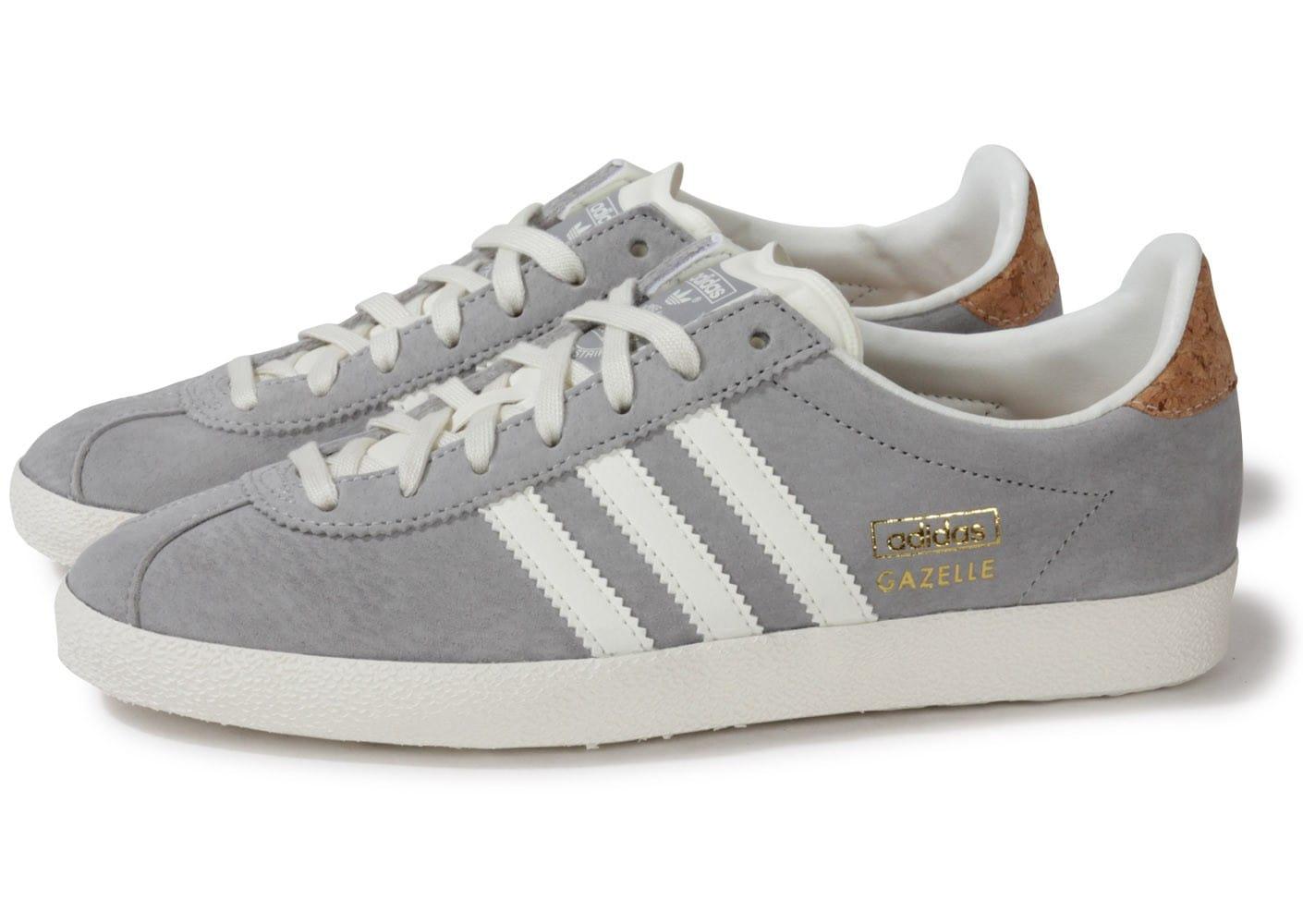 adidas gazelle femme grise clair