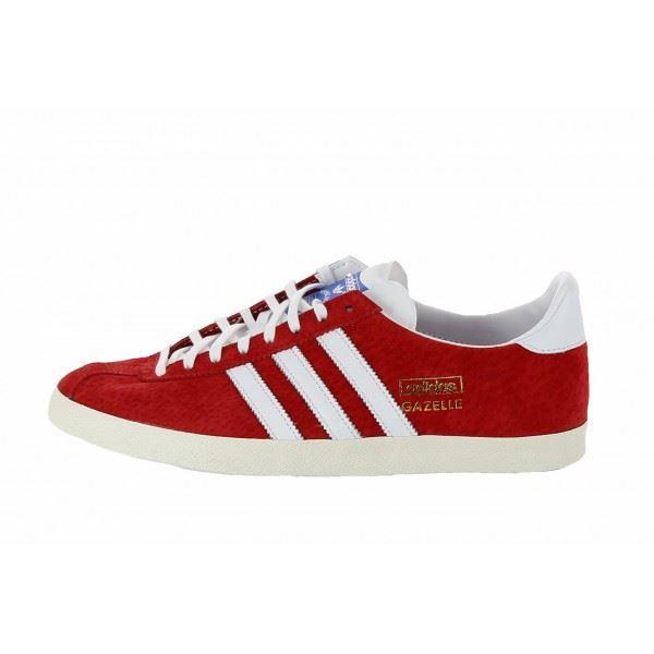 Acheter adidas gazelle rouge pas cher
