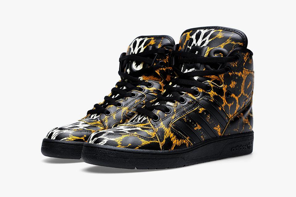 Acheter adidas jeremy scott instinct leopard pas cher