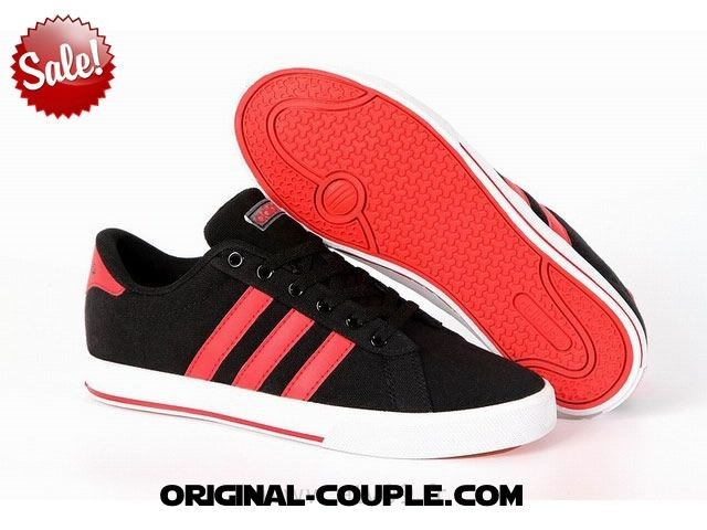 chaussures adidas neo rouge a42064