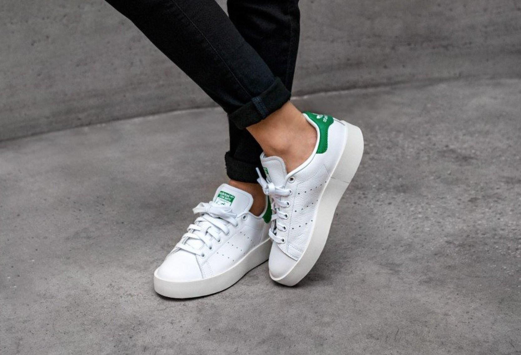 adidas stan smith femme bold