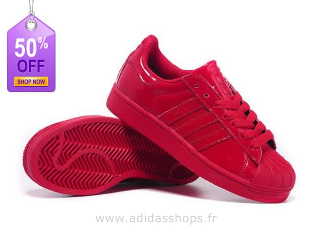 superstar adidas rouge