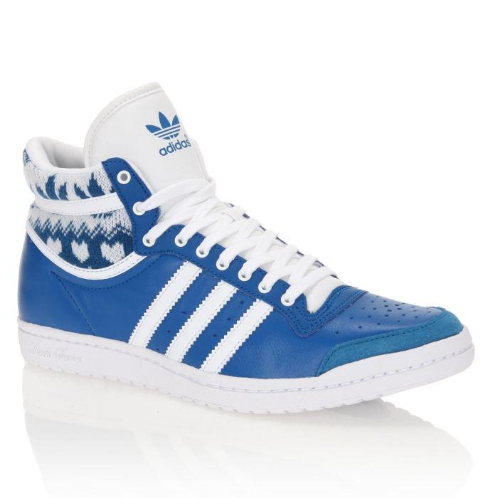 Acheter adidas top ten bleu pas cher