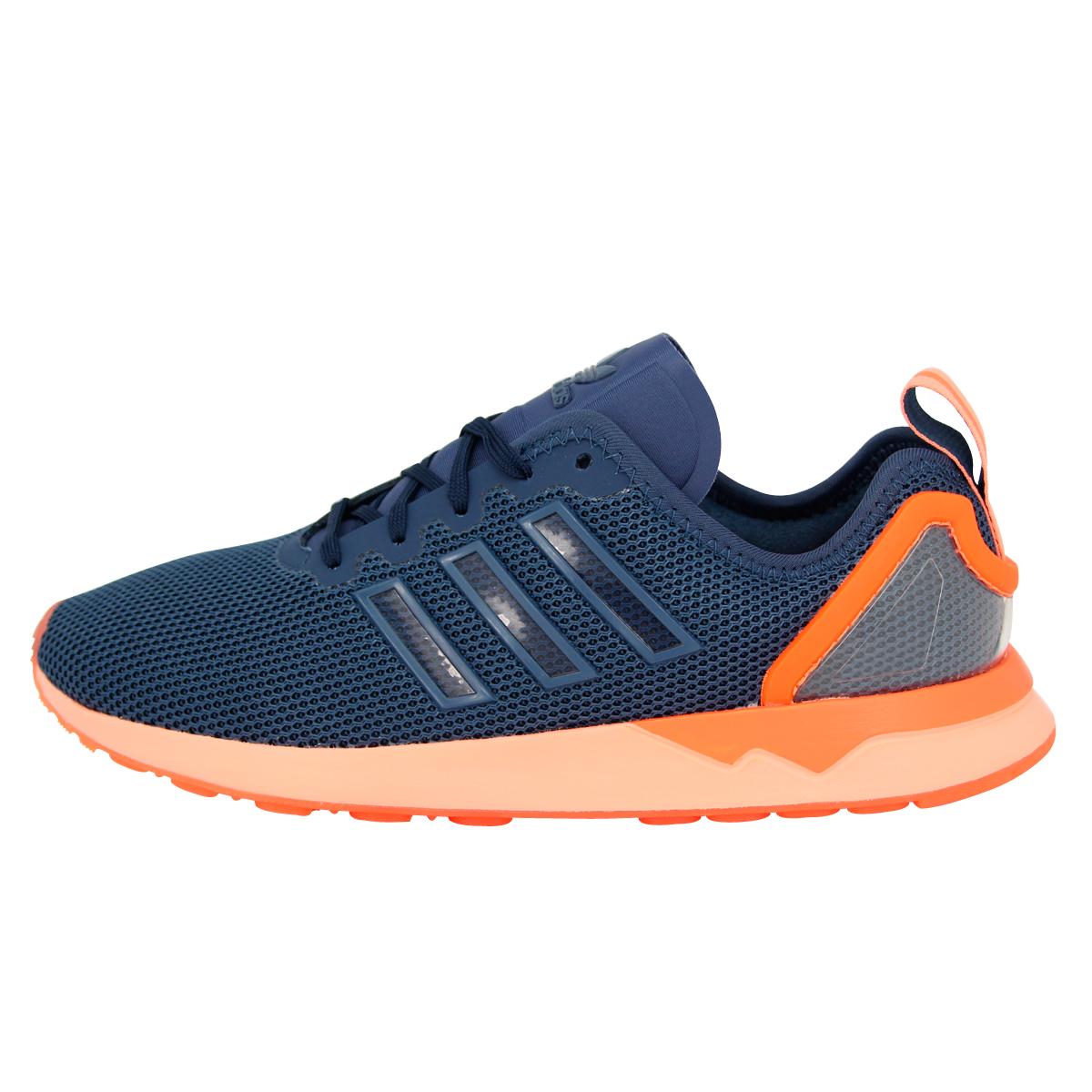 Acheter adidas zx flux bleu orange pas cher