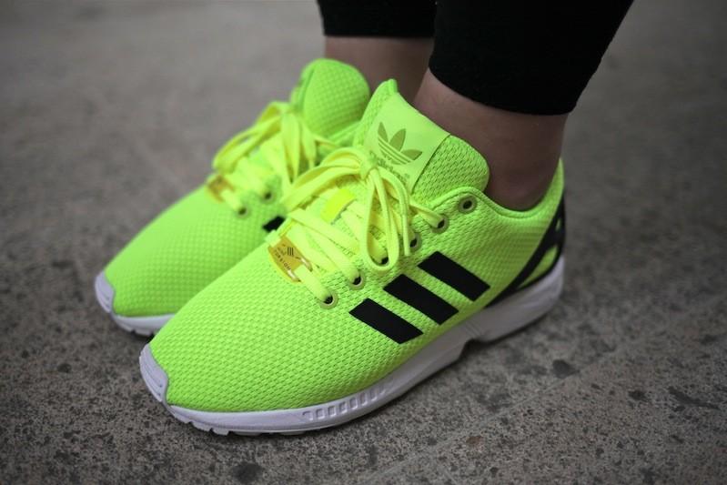 adidas zx flux femmes vert