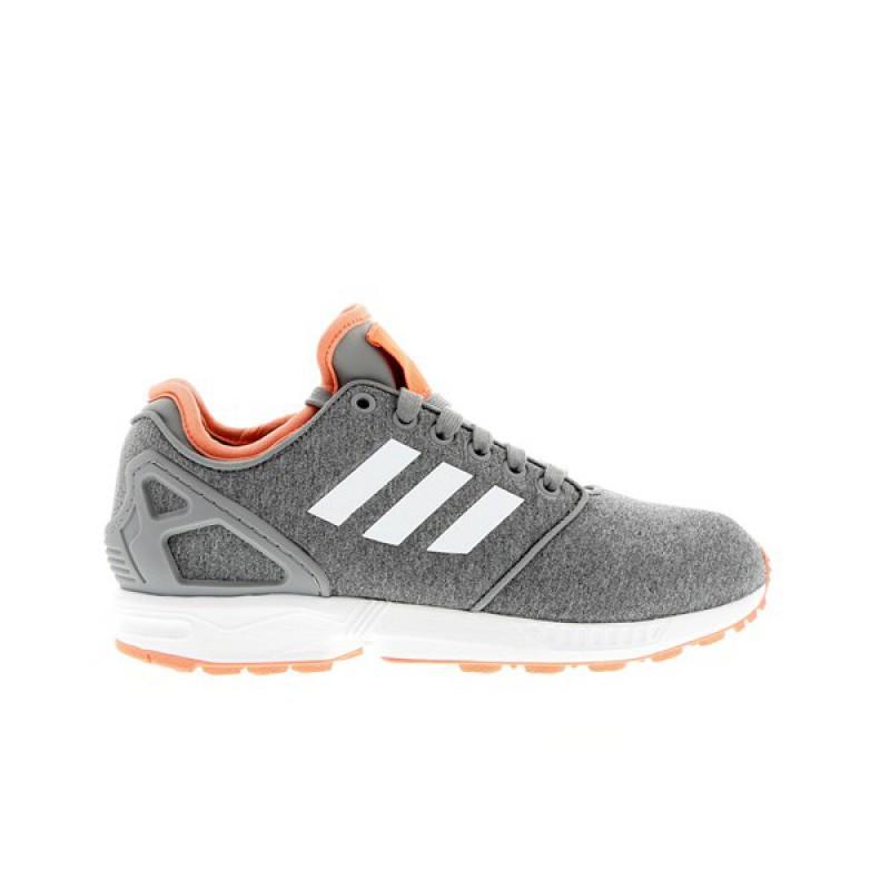 adidas zx flux toile homme fluo orange