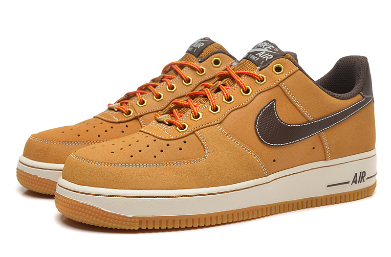 nike air force 1 homme montante brune