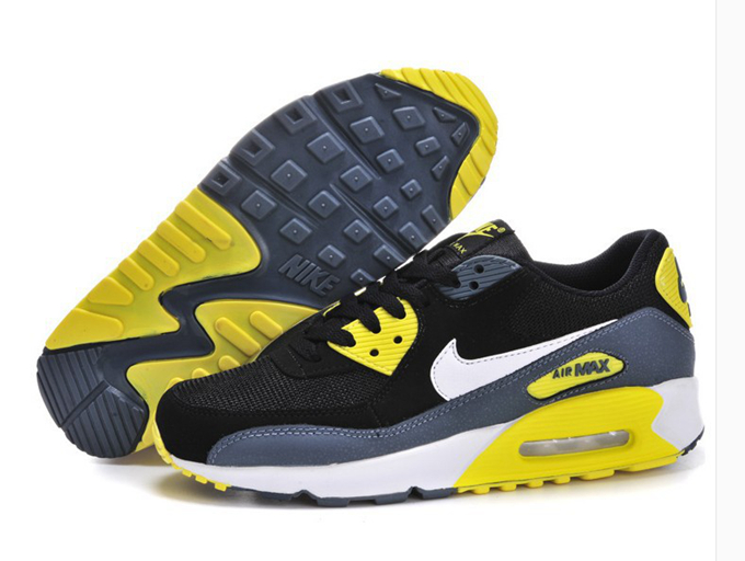nike air max 90 homme jaune fluo