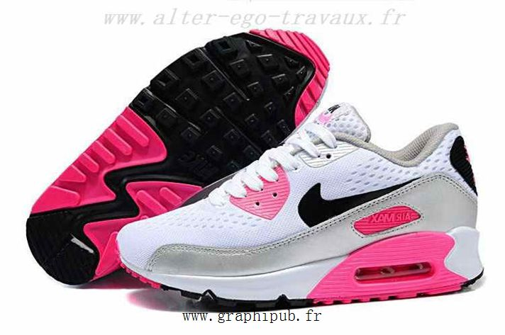 the best attitude a493e 6ab7f ... purchase nike air max 90 blanc en cuir mesh key sport shop full color basket  nike