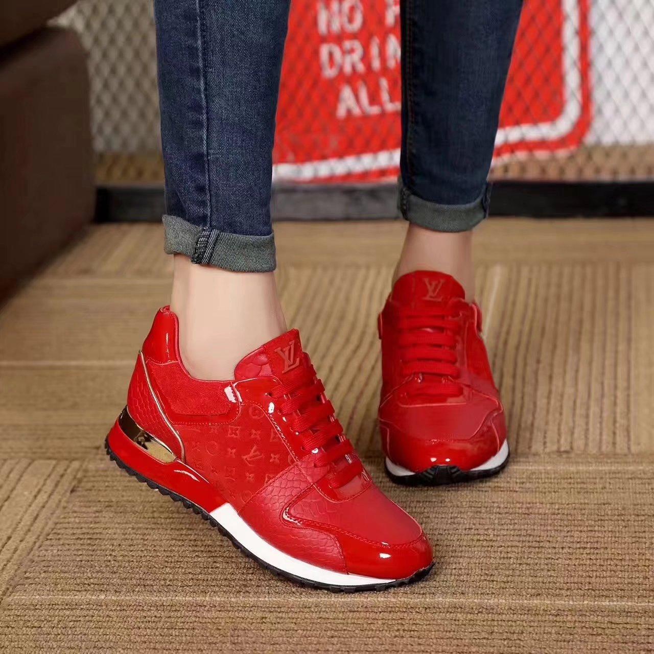 Acheter basket louis vuitton femme rouge pas cher cc3af528f54