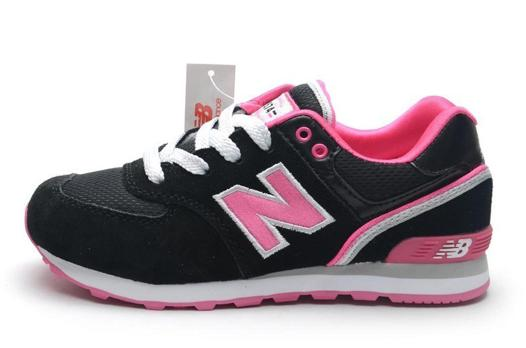 basket new balance fille scratch