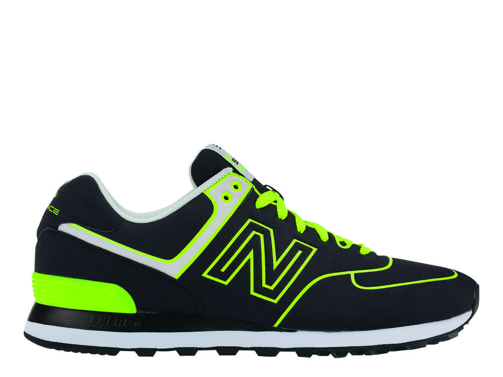 new balance homme fluo