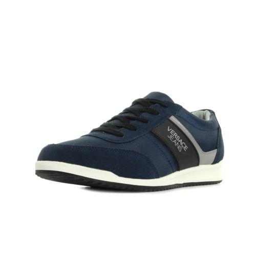 017fe8bb6bc17f 2018 France Chaussures Hommes - Acheter authentique Versace Jeans SADALA  Noir Bleu Homme Baskets mode Homme Vente .