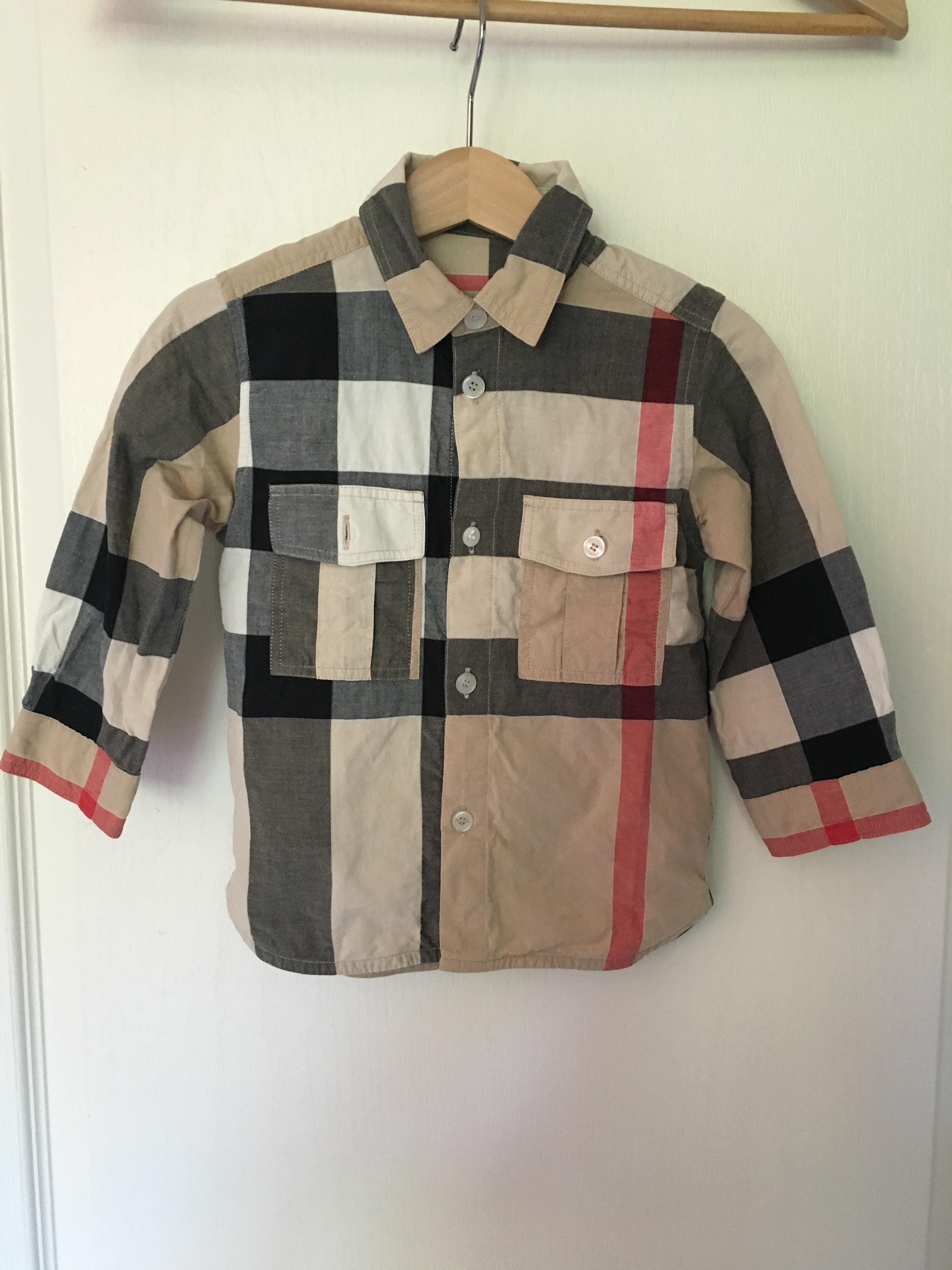 Acheter chemise burberry bebe garcon pas cher 57fde4f2bc5c