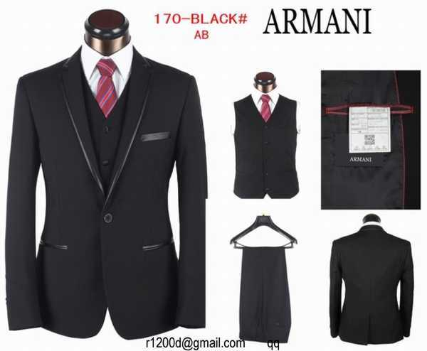 Acheter costume emporio armani pas cher 5d065699fd3